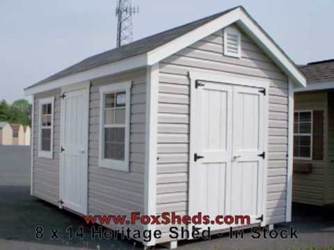 heritage shed 8x14 in stock at foxs country sheds - Garden Sheds 8 X 14