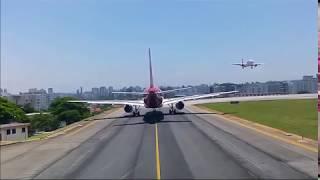 decolagem de sao paulo aeroporto de congonhas