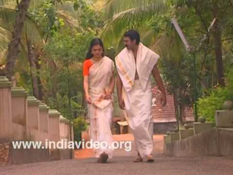 Couple in traditional  attire