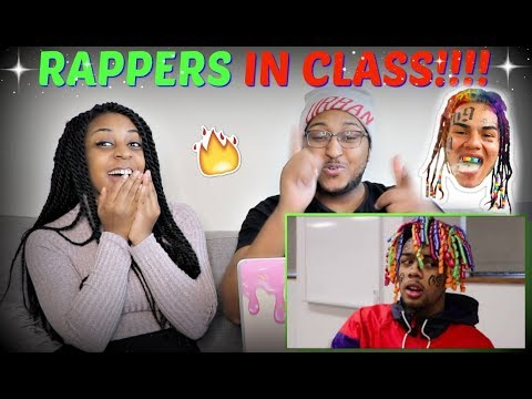 "Hampton ""If Rappers were in Classrooms (6Ix 9ine Chance, 21, Kanye, and more)"" REACTION!!!"