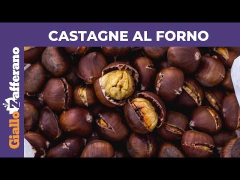 Castagne Al Forno Morbide E Facili Da Sbucciare Youtube