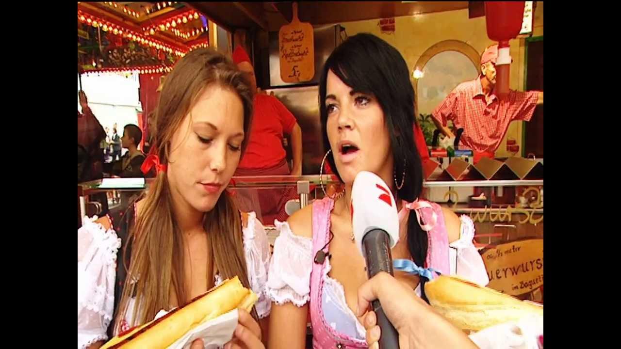 Heiße Mädels Beim Kaloriencheck Oktoberfest Youtube