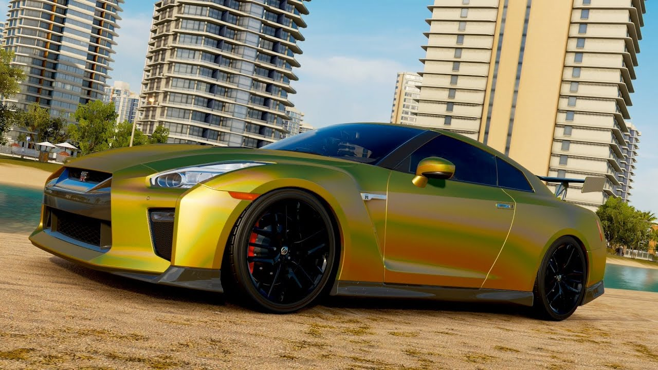Tanner Fox's Wrapped Nissan GTR Build (@tannerfox) - Forza ...
