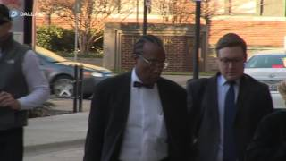 John Wiley Price enters federal court for jury selection