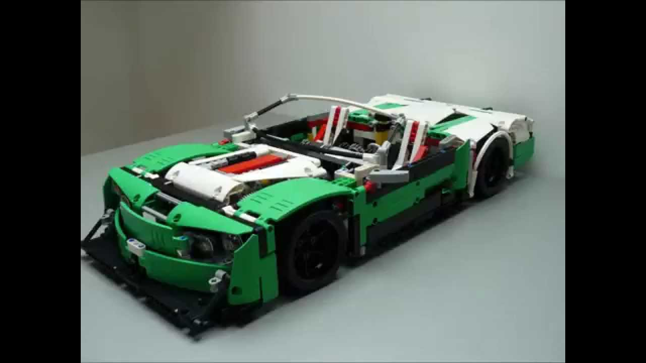 lego technic 42039 d modell cabriolet winter killer. Black Bedroom Furniture Sets. Home Design Ideas