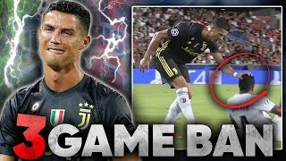 Cristiano Ronaldo To Be BANNED For Manchester United Return?! | #UCLReview