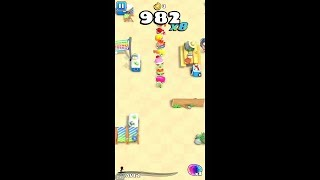 Zombie Beach Party (by PopReach Incorporated) - arcade game for android and iOS - gameplay.