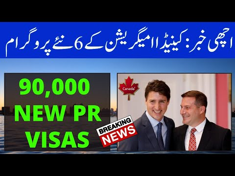 Good News: Canada Starts 6 New Immigration Programs (90,000