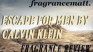 "MFO: Episode 105: Escape for Men by Calvin Klein (1993) ""CK Loner"""
