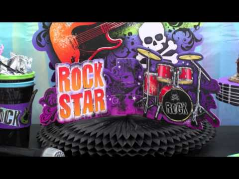 Rock Star Band Party Supplies