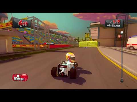 [Xbox 360] F1 Race Stars - Career: Oceanian 3,000CC - Lewis Hamilton
