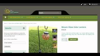 The Solar Light Garden- where the best of Solar Lights and Garden Decor are found. Thumbnail