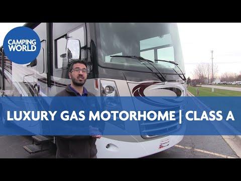 2017 Thor Challenger 37LX RV Review   Class A   Luxury Gas Motorhome   Port   Bay Breeze   Ian Baker