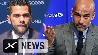 Dani Alves entschuldigt sich bei Pep Guardiola und Manchester City | Paris Saint-Germain
