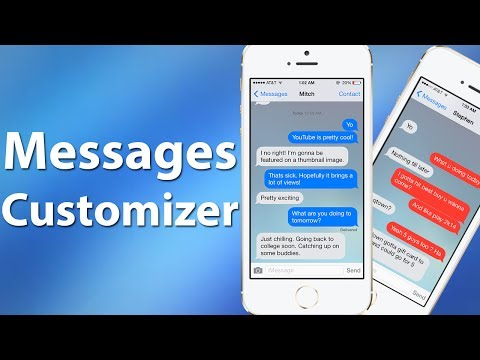 How to get animations on iphone messages app backgrounds