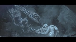 Alien:Isolation (Alien1979 & Prometheus Movie Connected Scene)