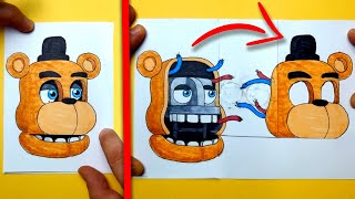 CREATE YOUCREATE YOUR FNAF ANIMATRONICS - Five Nights at Freddy's CHALLENGE | You cant hide!