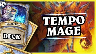 """FULL DAMAGE CONTROL"" - TEMPO MAGE - Hearthstone Deck Wild (K&C)"