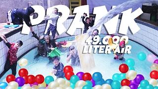 PRANK SEMPROT 49.000 LITER AIR KE DALAM RUMAH #BirthdayPrankMuntaz MP3