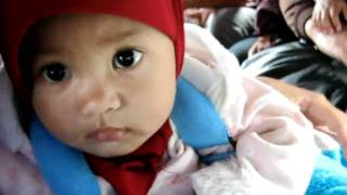 fajra cute baby that i accidentally met on a public transportation