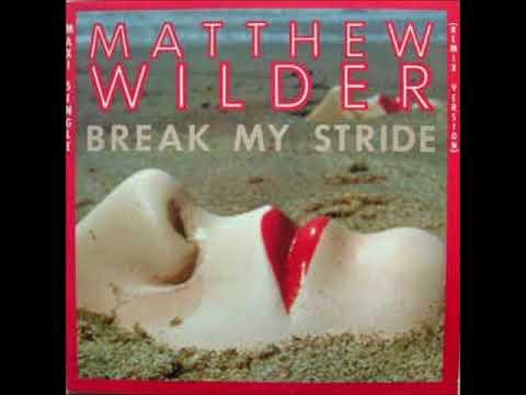 Matthew Wilder  Break My Stride   REMIX  DJ Nilsson