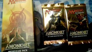 mtg amonkhet pre release pack 2 amonkhet booster packs opening 20