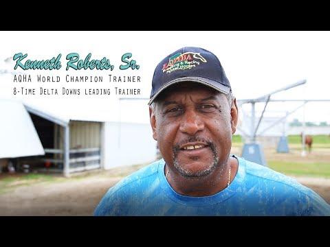 AQHA World Champion Trainer Kenneth Roberts, Sr.