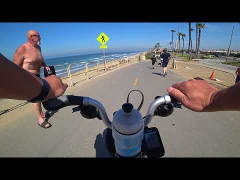 Testing Sony ActionCam FDR-X3000, Brompton H6L, chest mount, 4K clip