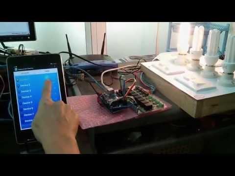 Arduino Smart Home - Relay Control Board Testing