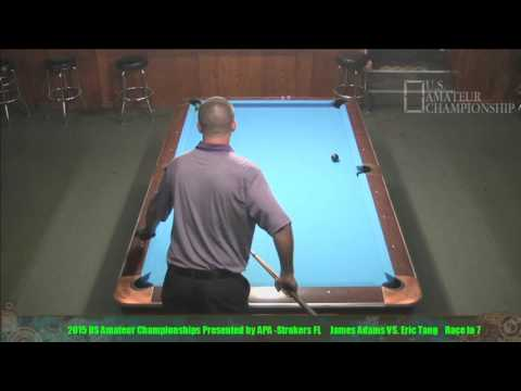 2015 US Amateur Championship James Adams Vs Eric Tang