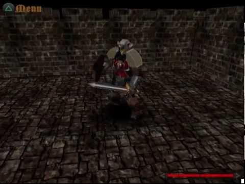 PlayStation 2 homebrew game - Test level