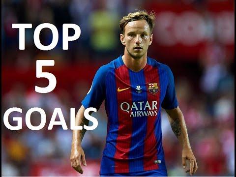 Ivan Rakitic Top 5 Goals (720p)