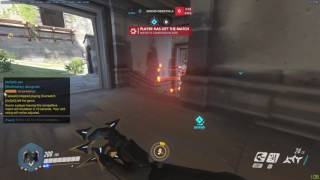 """Teammates throwing in Competitive Match """"Throwfordafran"""" Overwatch"""