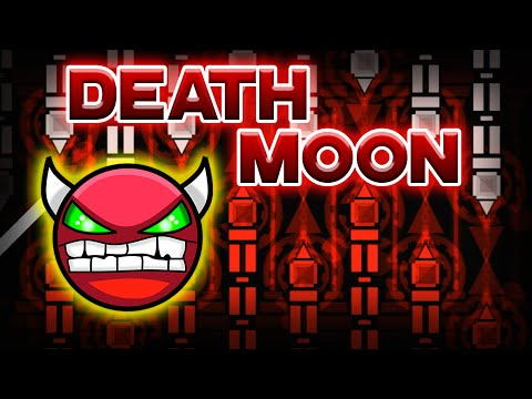 Geometry Dash Demon [Very Easy] - Death Moon - by Caustic