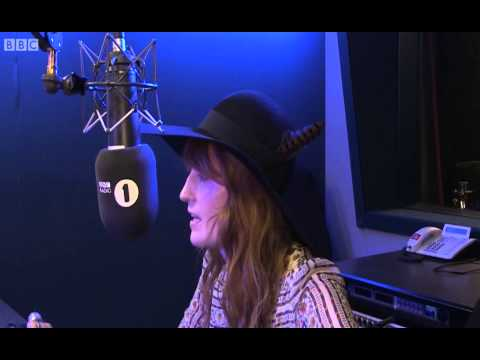Florence Welch - interview with Zane Lowe on BBC Radio 1