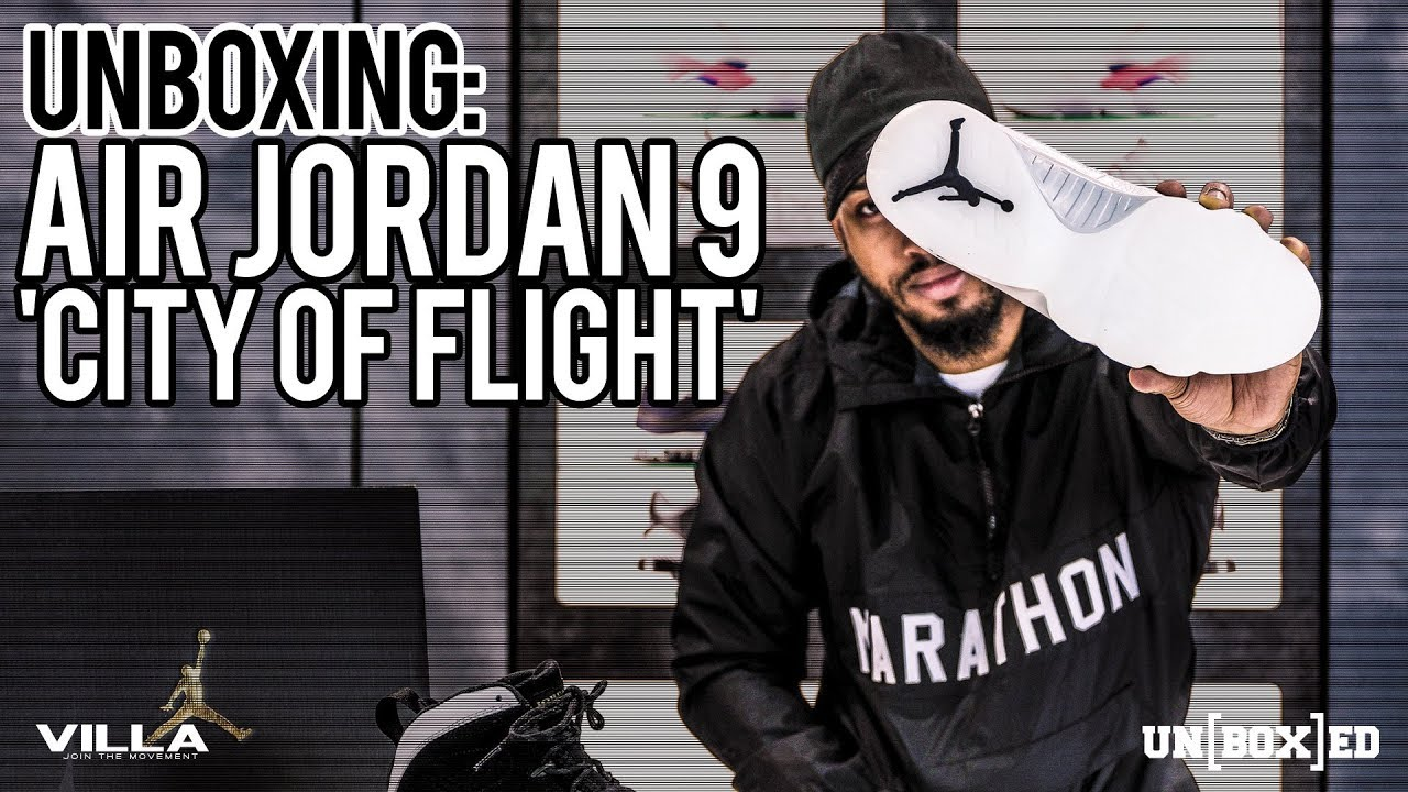 competitive price 46397 d3f83 UNBOXED  Air Jordan 9  City Of Flight  Ep. 7