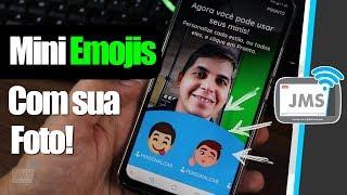 Mini Emojis COMO CRIAR e USAR SUAS PRÓPRIAS FIGURINHAS pelo Gboard e WhatsApp
