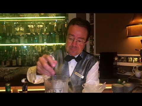 Fito Raba: Dry Bar at Maria Cristina (San Sebastian): Dry Martini