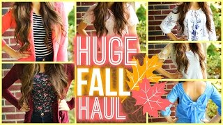HUGE Fall Clothing Haul 2014!