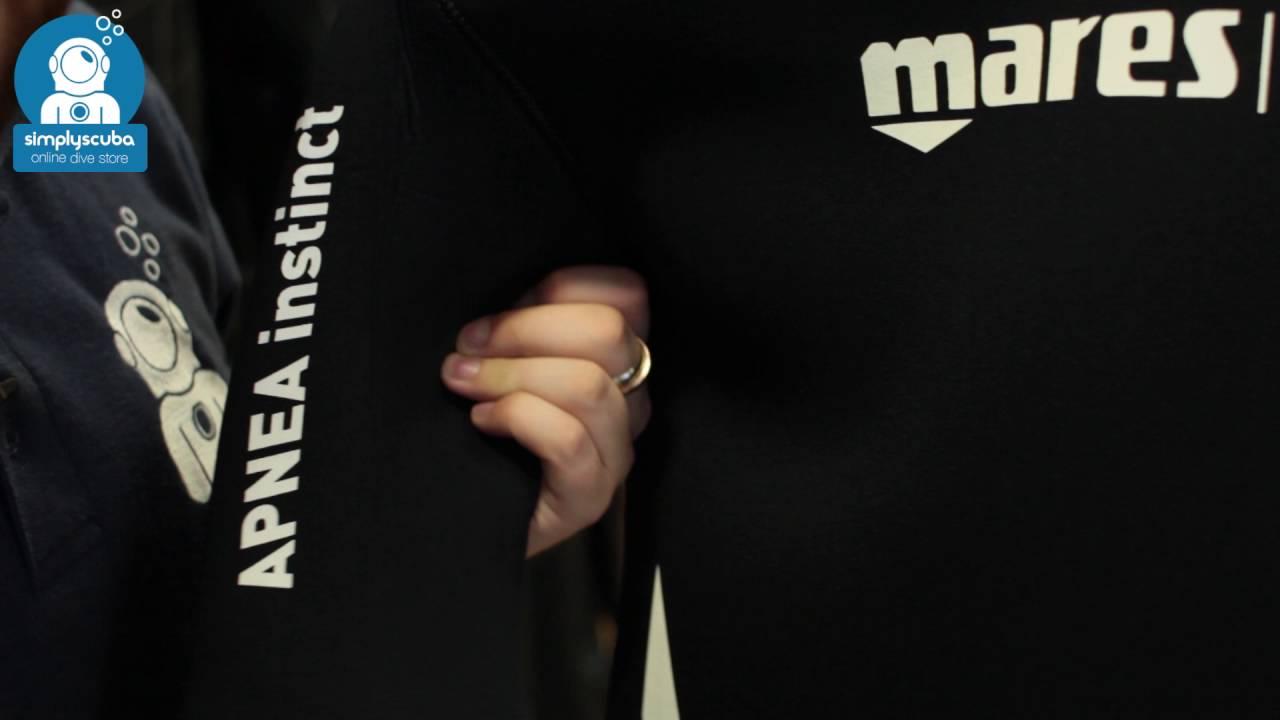 Mares Apnea 50 Instinct Jacket - www.simplyscuba.com - YouTube 68bffb5e5