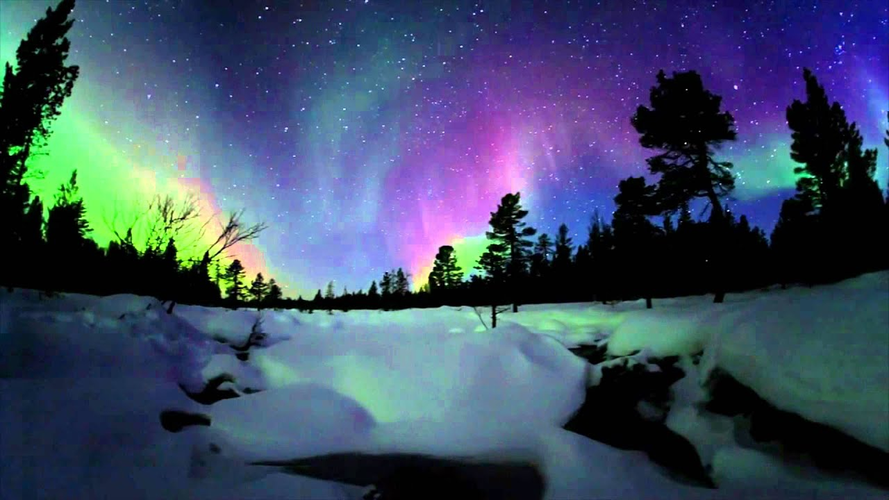 Water Fall Hd Wallpaper 4k Oba Northern Lights Observatory By Archmedium Youtube