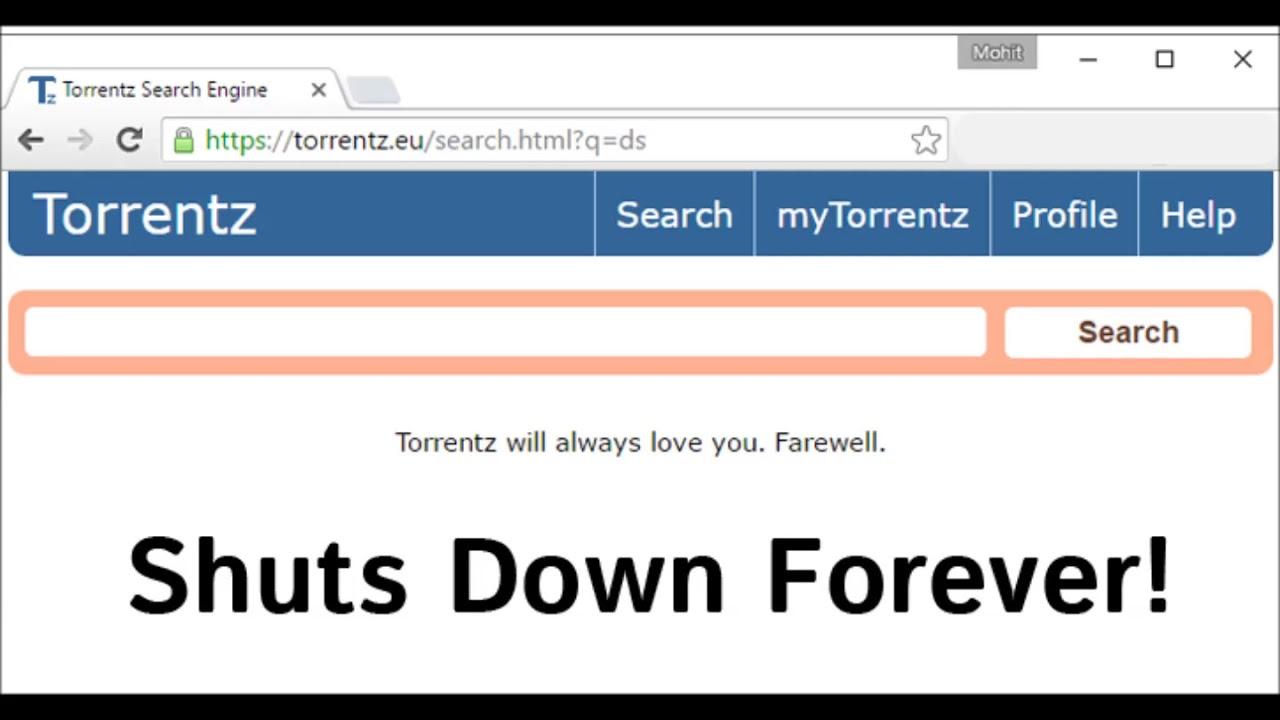 Torrentz eu Shuts Down Forever! End of Biggest Torrent