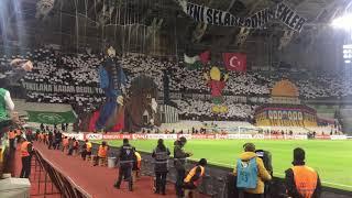 Kudüs Koreografisi Konyaspor- Fenerbahçe Maçı Öncesi