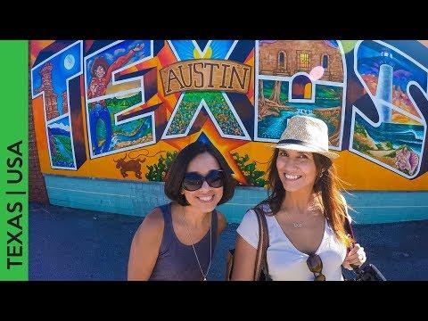 Vlog: Murals and the Graffiti Park downtown Austin, Texas