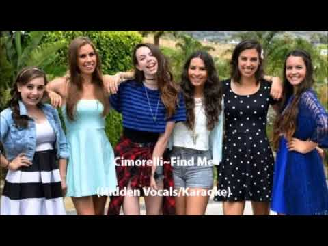 Cimorelli~Find Me (Hidden Vocals/Karaoke)