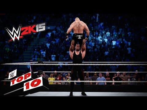 Most Pulverizing Powerbombs:  WWE 2K15 Top 10