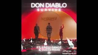 Don Diablo x DJ Shadow - Survive/Six Days Mashup (J Flores Edit)