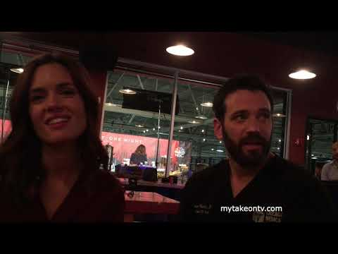 ONE CHICAGO DAY 2018: Torrey DeVitto, Nick Gehlfuss, and Colin Donnell on CHICAGO MED