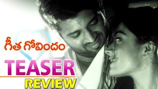 Geetha Govindam Movie Teaser Review | Vijay Devarakonda | Rashmika Mandanna | Ispark Media