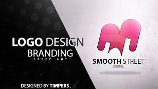 Illustrator Logo Design Process Speed Art